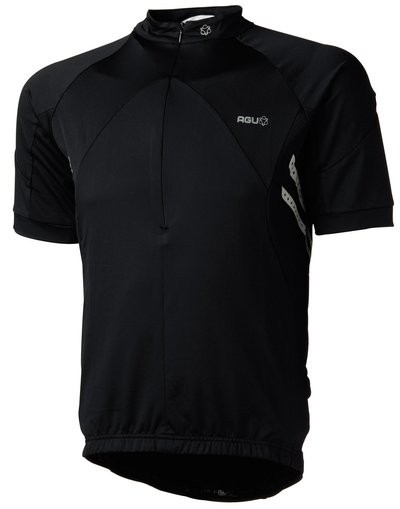 AGU Ovidius Shirt KM Zwart