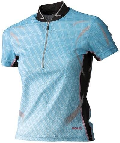 AGU Perris Lady Shirt KM Aqua/Black