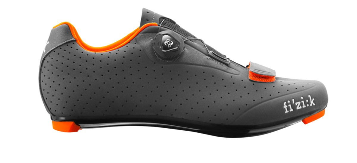 FIZIK R5 Boa Race Fietsschoen Anthra Orange