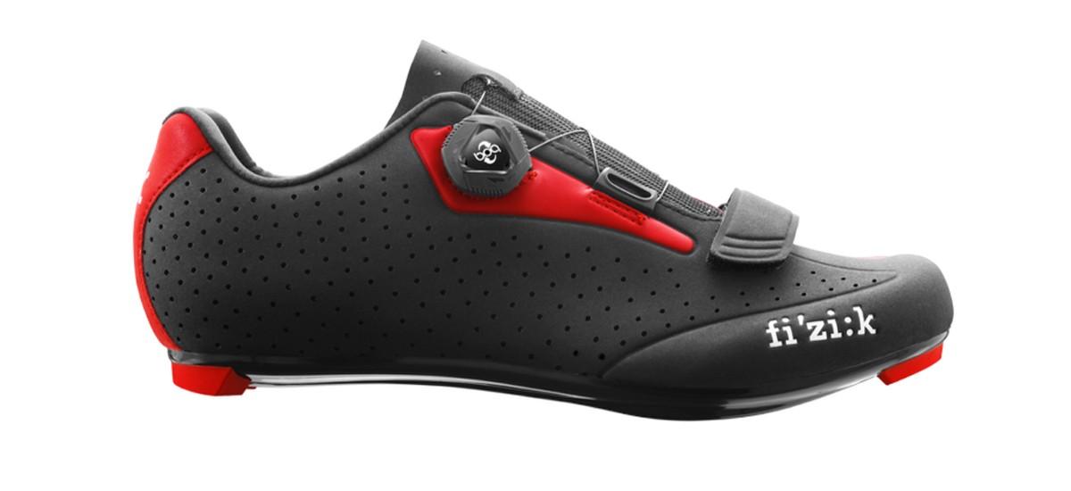 FIZIK R5 Boa Race Fietsschoen Black Red