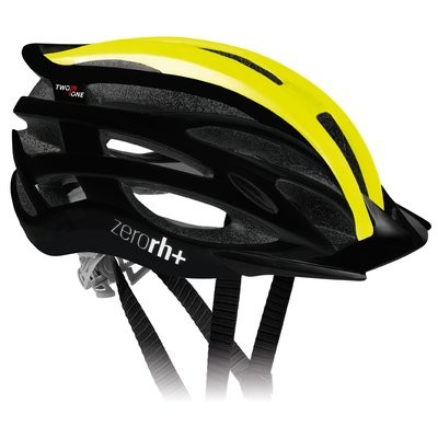 RH+ Helm Two in one Black Mat Yellow