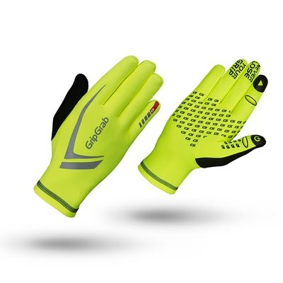 GripGrab Glove Running Expert Hi-Vis Fluo Yellow