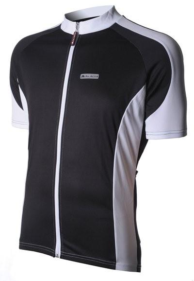 All Active Shirt KM Black-White
