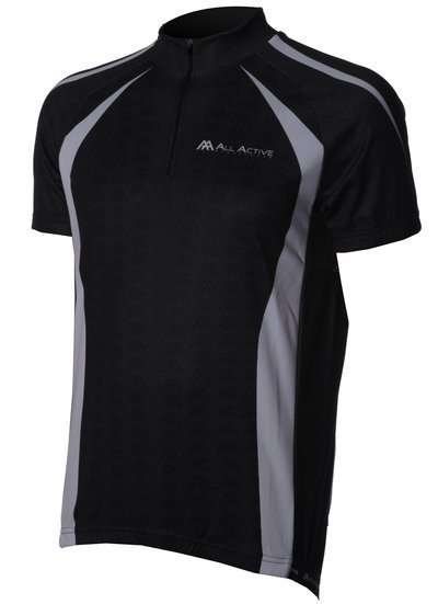 Modena Shirt KM Black/White