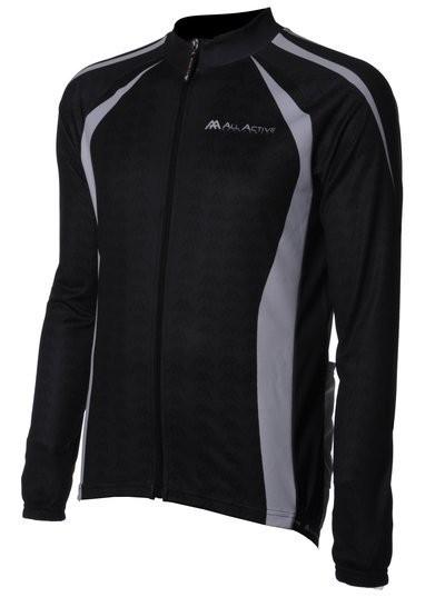 Modena Shirt LM Black/White