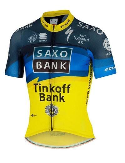Saxo Bank Bodyfit Pro Team Jersey FZ (04804001)