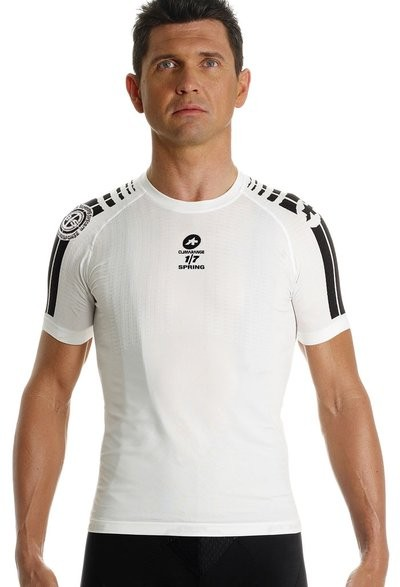 ASSOS SkinFoil 1 Spring Jersey SS White