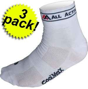 Chaussette CoolMax White  3-Pack