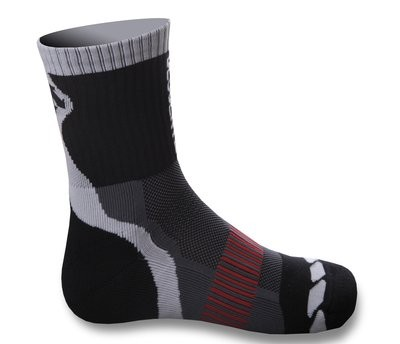 DESCENTE Sock WINTER Zwart - Metal