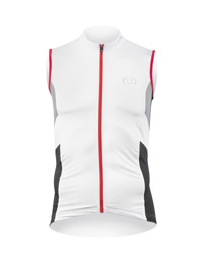 ULTIMA shirt Zm PERFORMANCE 2 Wit Zwart Rood