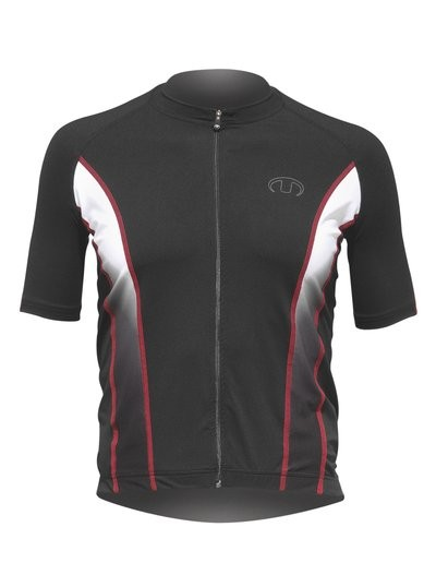 ULTIMA INDOOR Shirt Km Lr Zwart Rood