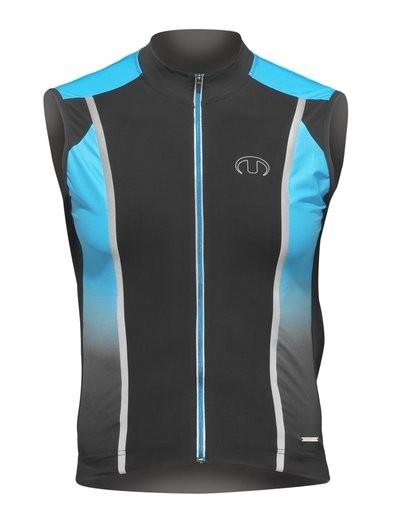 ULTIMA Shirt Zm U-line 3 Zwart Aqua
