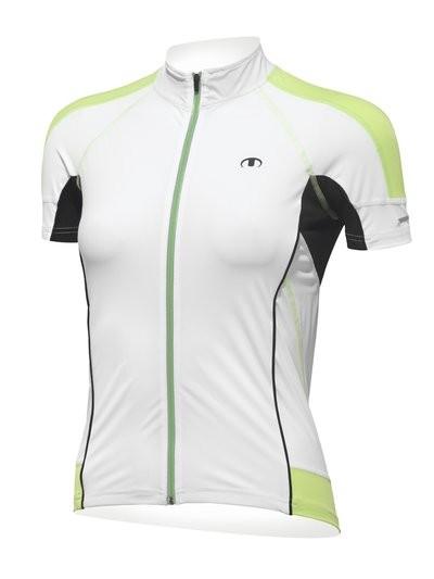 ULTIMA Shirt Km Lady UU 3 Wit Pistache Zwart