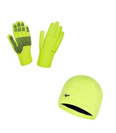 SEALSKINZ Ultra Grip Set Yellow Fluo