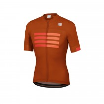 Sportful Wire Jersey - Sienna F Red Orange