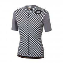 Sportful Checkmate Jersey - White Black