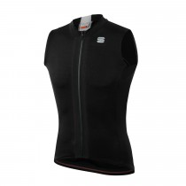Sportful Strike Sleeveless Jersey - Black White