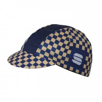 Sportful Mate Cap - Blue T Gold Black