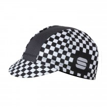 Sportful Mate Cap - White Black Anthracite