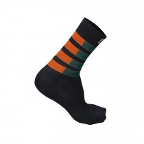 Sportful Mate Socks - Sea Moss Orange Black