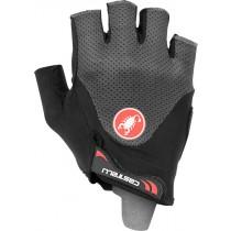 Castelli arenberg gel 2 gants de cyclisme gris foncé