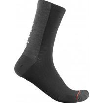 Castelli Bandito Wool 18 Sock - Black