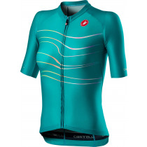 Castelli Aero Pro W Jersey - Turquoise Green