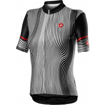Castelli Illusione Jersey - Black/White