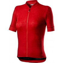 Castelli Promessa Jacquard Jersey - Red