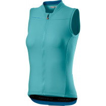 Castelli Anima 3 Sleeveless - Celeste/Marine Blue