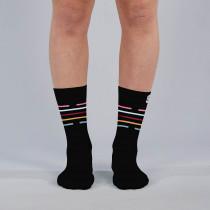 Sportful Vélodrome W Socks - Black Multicolor