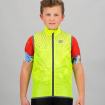 Sportful Kid Reflex Vest - Yellow Fluo
