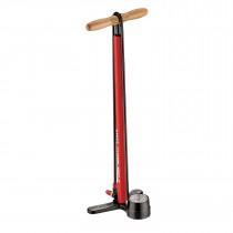 Lezyne steel floor drive abs-1 pro fietspomp rood