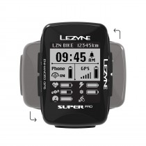 Lezyne super pro gps ordinateur de cycle