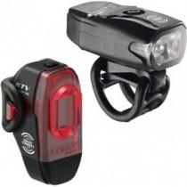 Lezyne KTV Drive en KTV Pro kit d'éclairage vélo Zwart