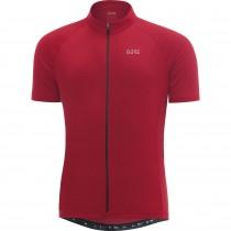 Gore C3 maillot de cyclisme manches courtes rouge (100031)