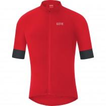 Gore C7 maillot de cyclisme manches courtes rouge