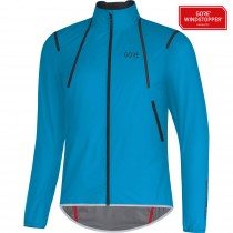 Gore C7 gore windstopper light veste de cyclisme cyan bleu