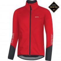 Gore C5 gore-tex active veste imperméable rouge noir