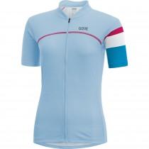 Gore C5 maillot de cyclisme manches courtes femme ciel bleu cyan bleu