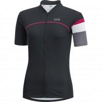 Gore C5 maillot de cyclisme manches courtes femme noir gris