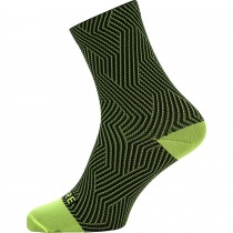 Gore C3 optiline chaussettes de cyclisme neon jaune noir