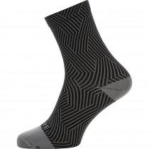 Gore C3 optiline chaussettes de cyclisme gris noir