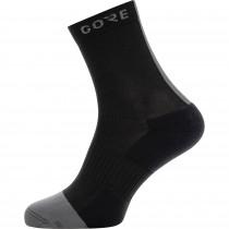 Gore M mid chaussetes cycliste noir gris