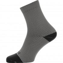 Gore C3 Polka dot chaussettes de cyclisme gris noir