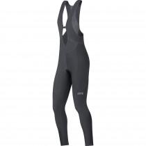 Gore C3 thermo cuissard de cyclisme longues à bretelles femme noir