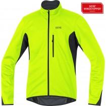 Gore c3 gore windstopper E veste de cyclisme neon jaune noir