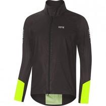 Gore® C5 gore-tex® shakedry™ 1985 viz veste de cyclisme noir neon jaune