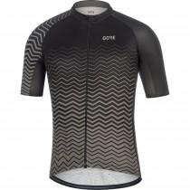 Gore C3 maillot de cyclisme manches courtes noir graphite gris (100449)
