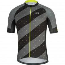 Gore C3 maillot de cyclisme manches courtes noir neon jaune (100451)